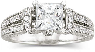 JCPenney FINE JEWELRY DiamonArt Cubic Zirconia Engagement Ring