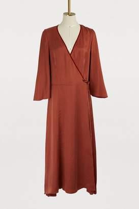 Forte Forte Long satin dress