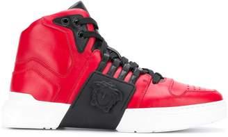 Versace high top sneakers