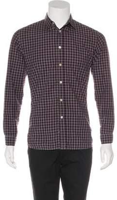 Paul Smith Gingham Woven Shirt