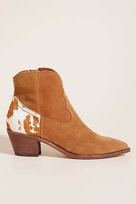 Dolce Vita Western Ankle Boots