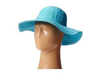Scala Crushable Big Brim Ribbon Sun Hat
