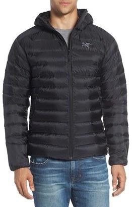 Men's Arc'Teryx 'Cerium' Down Ripstop Hooded Jacket $379 thestylecure.com