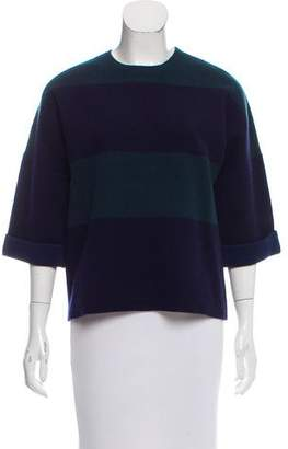 Derek Lam Striped Cashmere-Blend Sweater w/ Tags