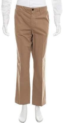 Billy Reid Cropped Straight-Leg Pants