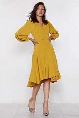 Nasty Gal It's a Date Midi Dress