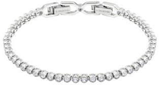 Swarovski Emily Crystal Rhodium-Plated Bracelet