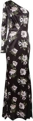 Philipp Plein Floral Evening Dress