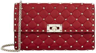 Valentino Rockstud Spike Clutch Bag