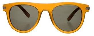 Salvatore Ferragamo Matte Tinted Sunglasses