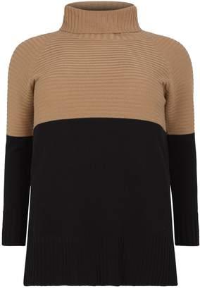 Marina Rinaldi Knitted Turtleneck Sweater
