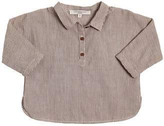 Striped Cotton Garza Shirt