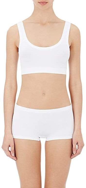 Women's Touch Feeling Crop Top Sports Bra