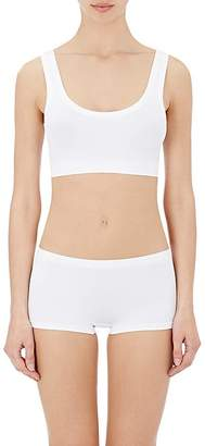 Hanro Women's Touch Feeling Crop Top Sports Bra