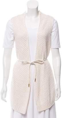 Loro Piana Belted Knit Vest