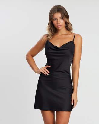 Atmos & Here ICONIC EXCLUSIVE - Rebecca Cowl Slip Dress