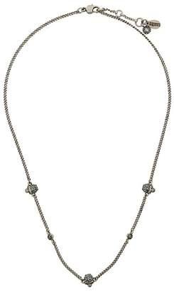 Alexander McQueen skull charm necklace