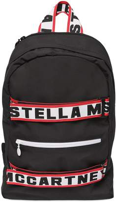 Stella McCartney Logo Straps Nylon Backpack