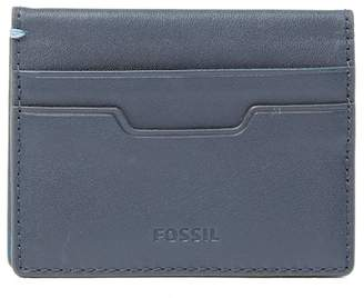 Fossil Ellis Leather Card Case Wallet