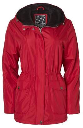 Big Chill Women's Plus Size Hooded Anorak W/Sheared Pile Lining