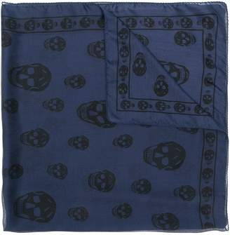 Alexander McQueen skull print foulard