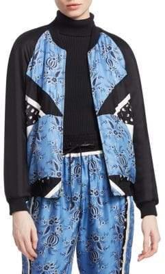 3.1 Phillip Lim Floral Patchwork Jacket
