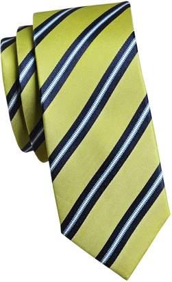 Sondergaard Striped Silk Slim Tie