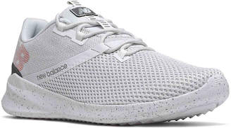 New Balance District Run Lightweight Running Shoe -White/Red - Men's