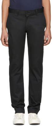 Naked & Famous Denim Denim Black Slim Chino Trousers