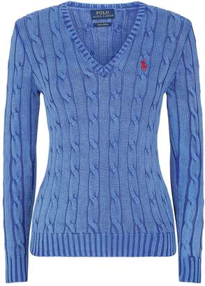 Ralph Lauren Kimberly Cable-Knit Sweater