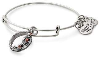 Alex and Ani Queen's Crown Expandable Wire Bangle