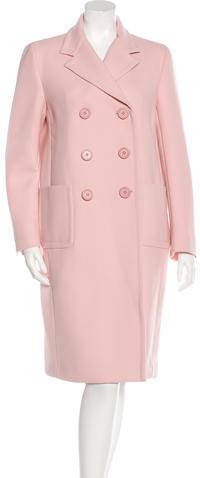 pradaPrada Fall 2015 Virgin Wool Coat