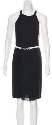 Blumarine Belted Knee-Length Dress