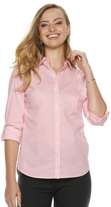 Apt. 9 Women's Structured Essential Button-Down Shirt
