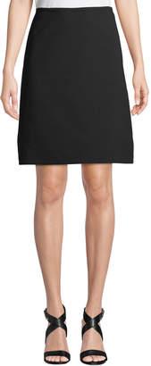 Leon Max Crepe A-line Skirt