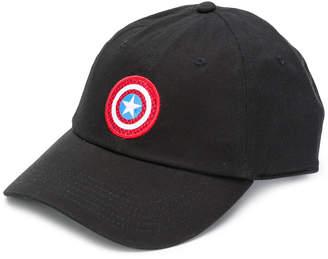 Vans X Marvel Captain America shield courtside hat