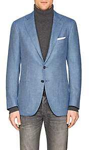 Isaia Men's Sanita Cashmere Two-Button Sportcoat-Lt. Blue