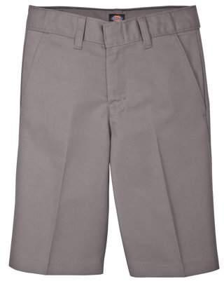 Dickies Boys' Uniform FlexWaist? Flat Front Short (Husky)
