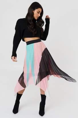 Trendyol Asymmetric Midi Skirt