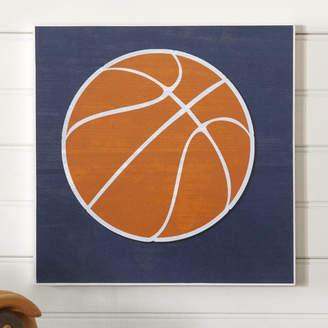 Birch Lane Kids Basketball Sports Center Wall Art