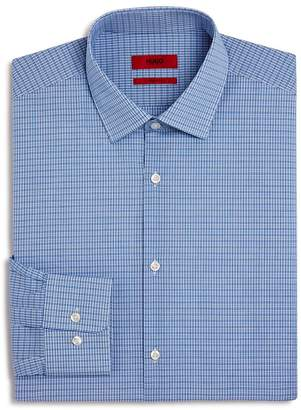 HUGO Micro-Check Regular Fit Dress Shirt