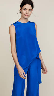 ADAM by Adam Lippes Silk Crepe Tunic with Pleat Back