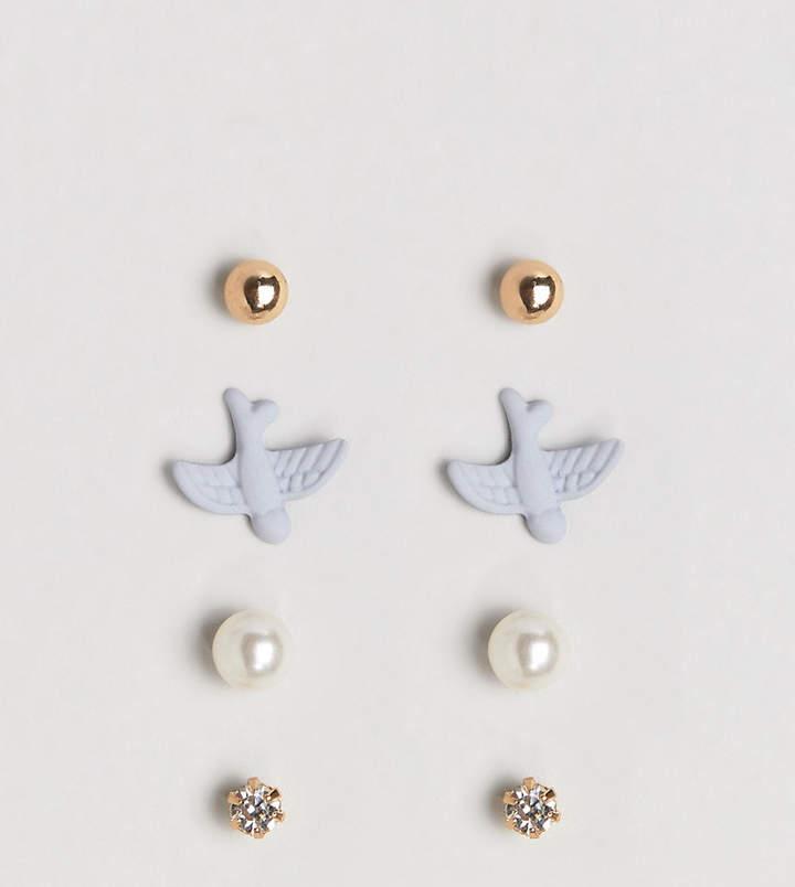 Limited Edition – 4 verschiedene Ohrringe im Set