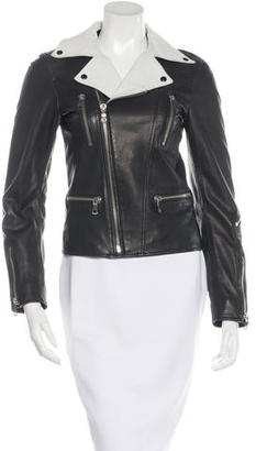 Diesel Leather Moto Jacket $275 thestylecure.com