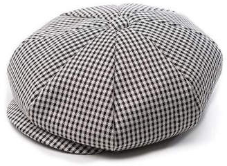 Rayon gingham check 3pack- CLASSIC BIG APPLE HAT