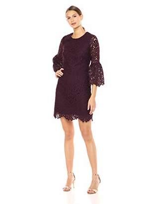 Shoshanna Women's Laureston Long Sleeve A-Line Dress
