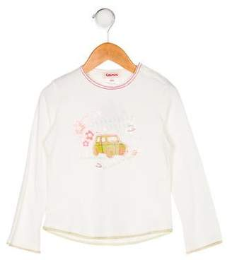 Catimini Girls' Printed Long Sleeve Top w/ Tags