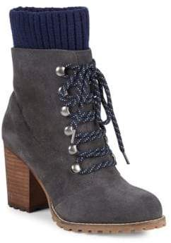Kari Stack Heel Hiking Boots