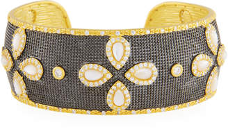 Freida Rothman Fleur Bloom Petal Cuff Bracelet