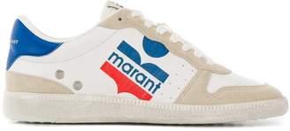 Isabel Marant colour block logo sneakers